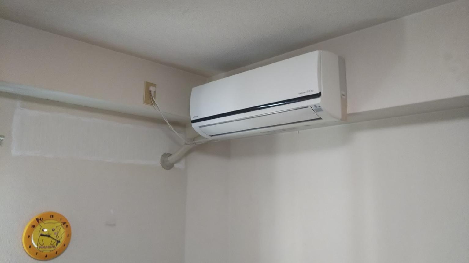 垂水区N様宅のエアコンの取り替え工事を受けました。
