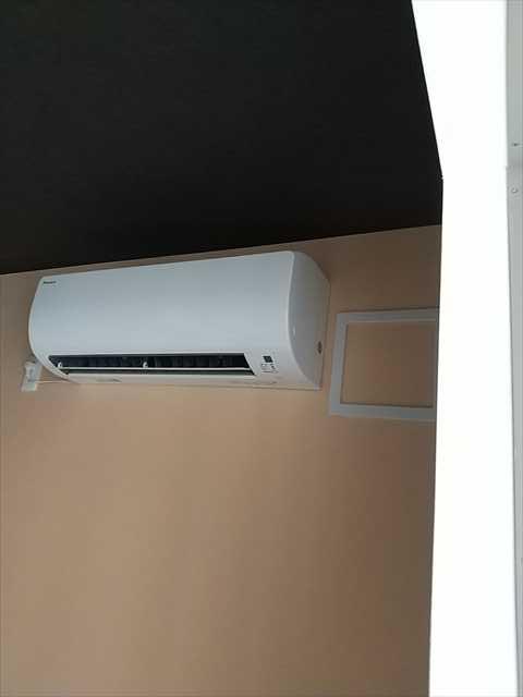 リホームマンションのエアコン取付けに行きました。